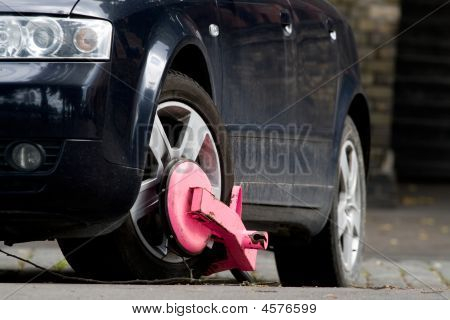 Clamped Car