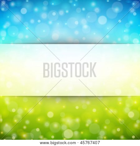 Abstract bokeh background. Raster version from vector version.