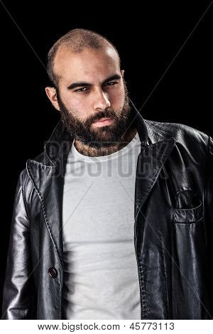 Man In Leather