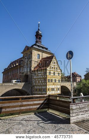 Old Town Hall In Bamberg, Germany.