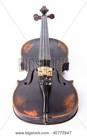 Black Old Violin