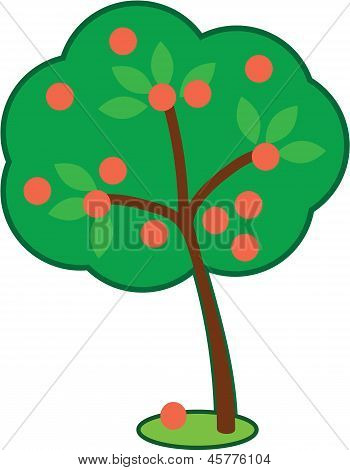 Cute Apple Tree