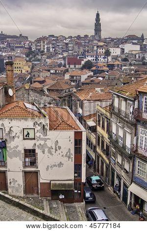 Oporto General View