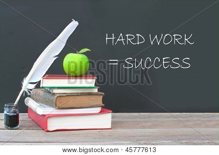 Hard Work Equals Success