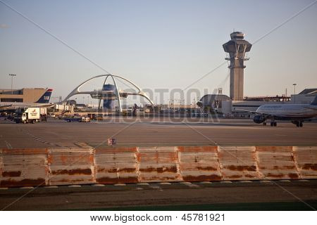 LOS ANGELES, CALIFORNIA - APRIL 14:  Los Angeles city council approves 4 billion dollar LAX runway expansion proposaL on April 14, 2012 in Los Angeles California.