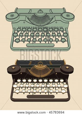 Vintage Typing machine