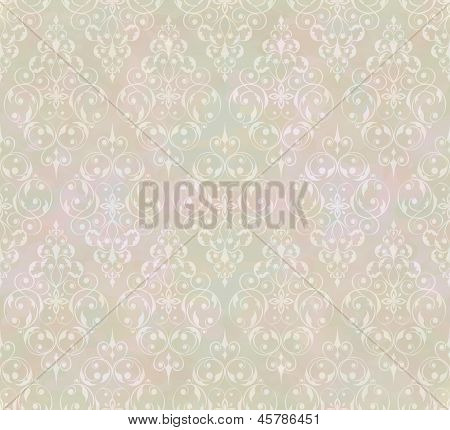 Vintage Abstract Vector Seamless Pattern