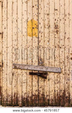 Verriegelten Tür