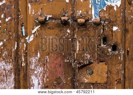 Neglected Door