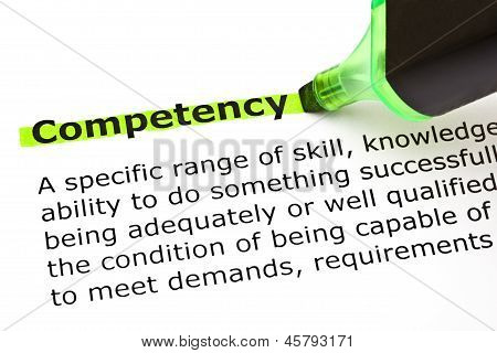 Competency Definition