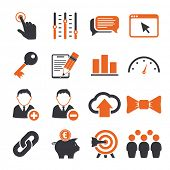 picture of video chat  - SEO icons sets - JPG