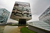 MOSCOW - AUG 20: Russian Business School Skolkovo - analog of Silicon Valley, August 20 2012, Moscow