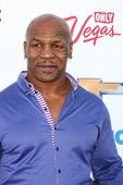 LOS ANGELES -  MAY 19:  Mike Tyson arrives at the Billboard Music Awards 2013 at the MGM Grand Garde