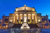 The Concert hall at the Gendarmenmarkt