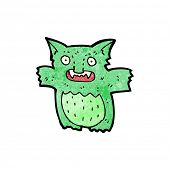 foto of gremlins  - cartoon little green gremlin - JPG