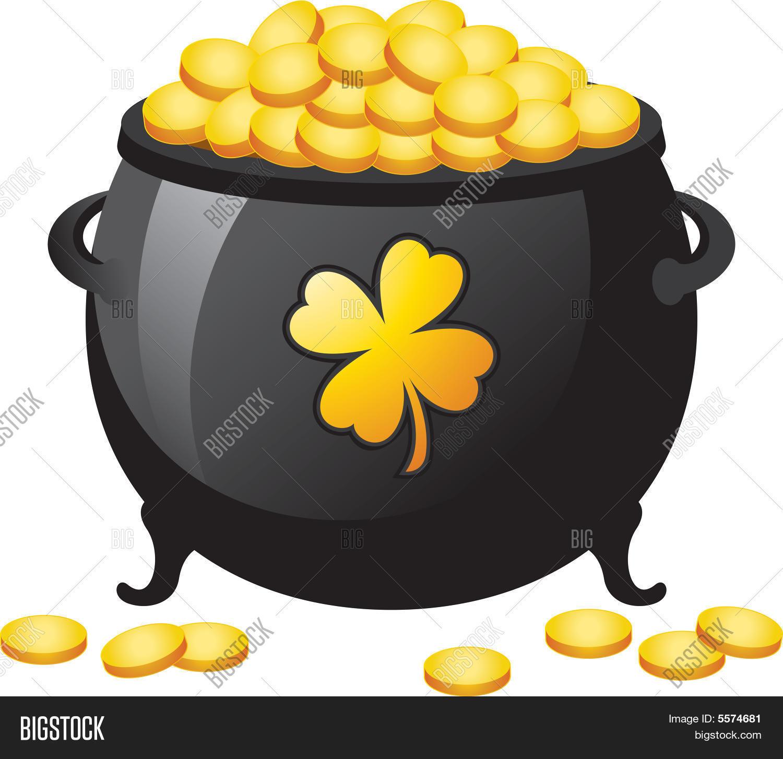 pot gold vector u0026 photo bigstock