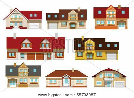 Townhouses collection