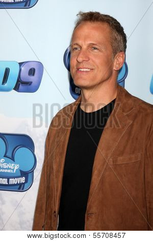 LOS ANGELES - DEC 18:  Patrick Fabian at the Premiere Of Disney Channel's
