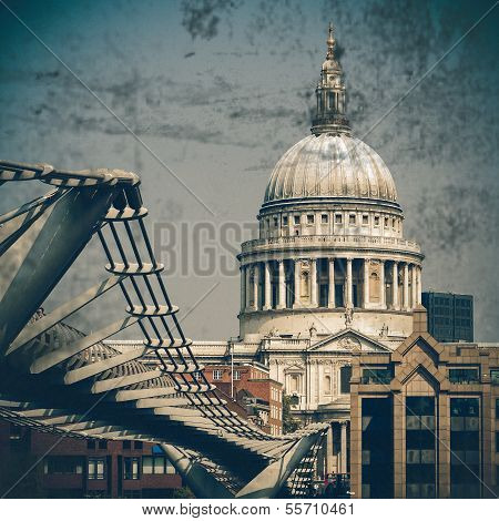 St Paul's Cathedral, Vintage Coaster
