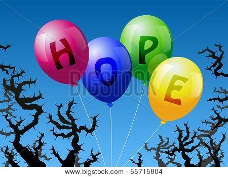 Ballons-Hoffnung