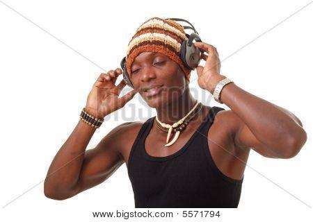 Man With Big Headphones