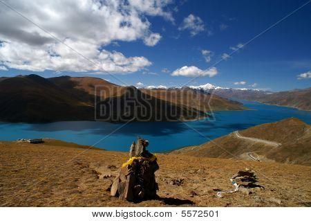 Yamdrok-tso, Tibet