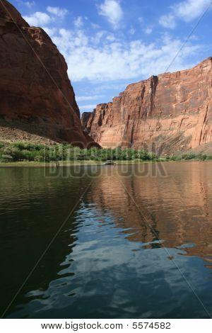 Colorado River in Glen Canyon : Bigstock