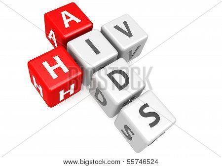 AIDS and HIV in cube