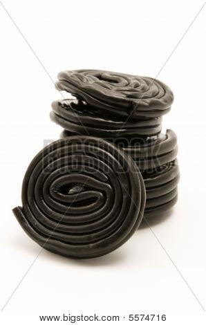 Black Liquorice Wheels
