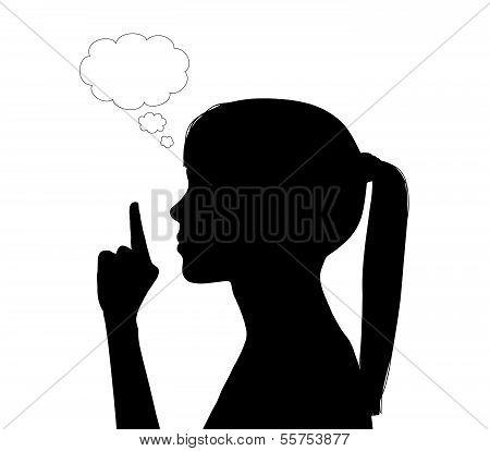 Woman Having An Idea