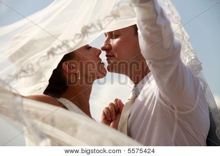 Pareja de recién casado