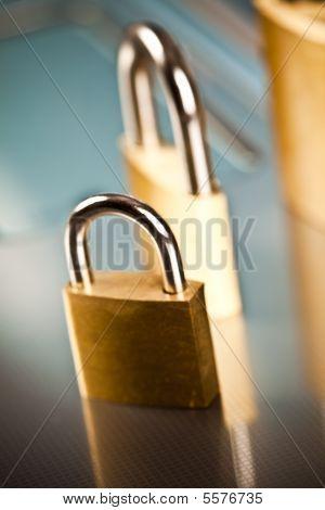 Keyboard locked