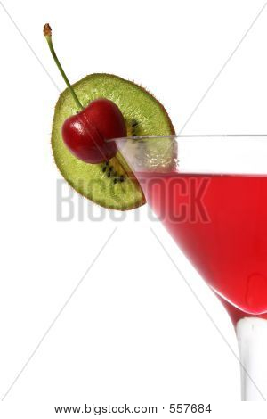 Cherry Kiwi Cocktail