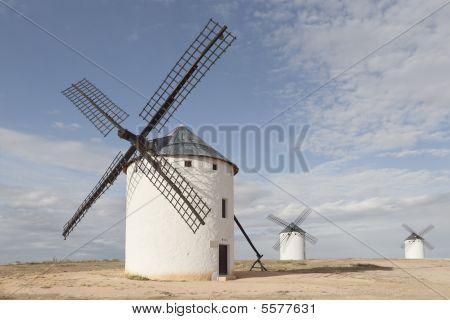 Windmills At Campo De Criptana, Ciudad Real, Spain