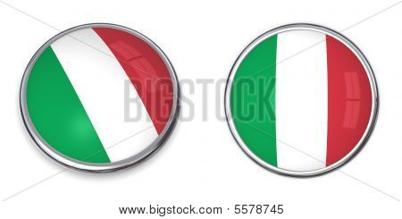 Banner Button Italy
