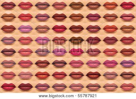 Lips Wall