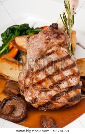 Delicious Veal Chop