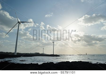 Wind Turbine Generator System In Jeju