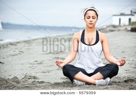 Yoga Asian Woman