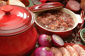 picture of brazilian food  - Photo of typical Brazilian food using beans - JPG