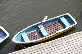 picture of pubic  - Boat on the water at pubic park - JPG
