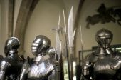 Armor Of Medieval Knights poster