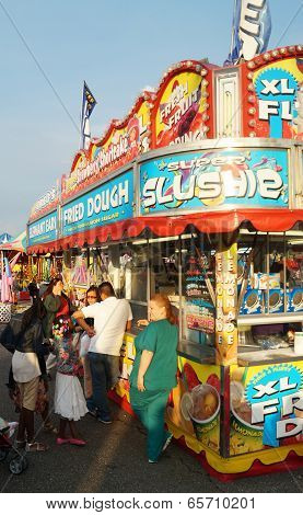 Food Stall at Summer Carnival
