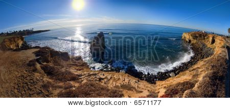Sunset Cliffs Panorama