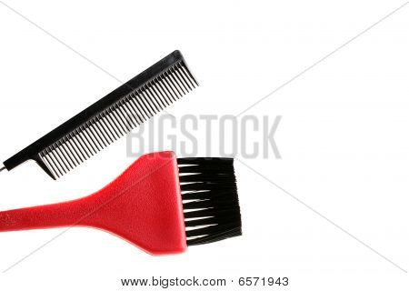 Hairbrush And Brush