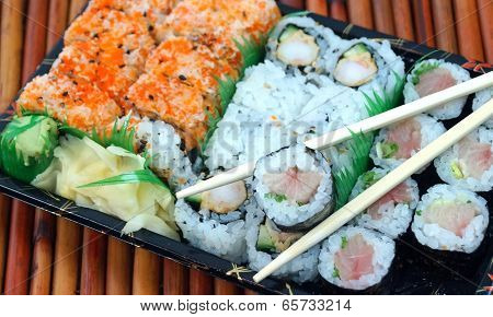 Takeout Sushi