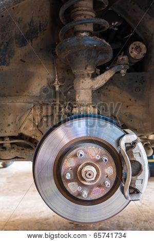 Car brakes system