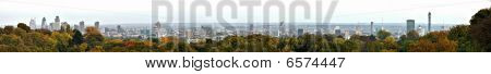 Panoramic View Over London, England, Uk From Hampstead Heath
