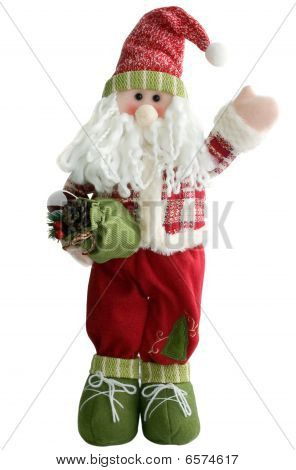 Old Fairytale Woodman With Gifts