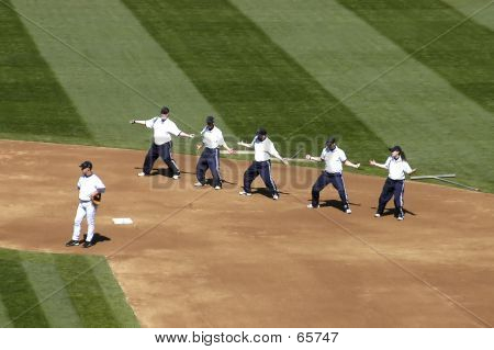 Grounds Crew Dance